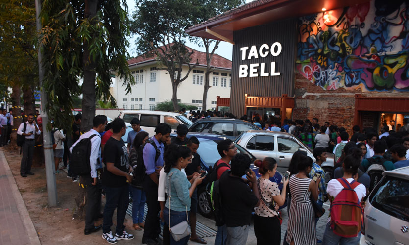Life Online - Taco Bell now open!